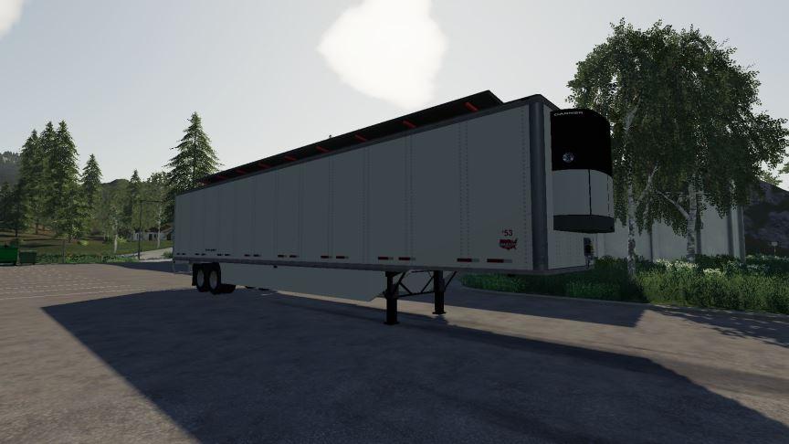 Мод Wabash 53ft Dry Van v 1.0 для Farming Simulator 2019