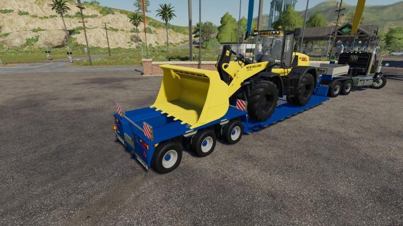 Мод Wheel Loader Shovel v 1.0 для Farming Simulator 2019