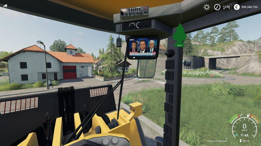 Мод Volvo L220h without Shovel, better v 2.0.1.9 для Farming Simulator 2019