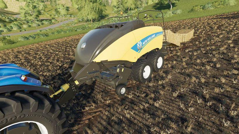 Мод New Holland BigBaler 1290 v 1.0 для Farming Simulator 2019