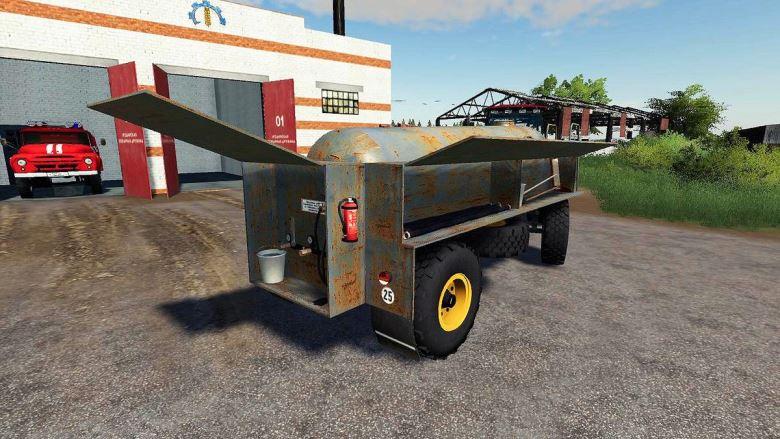 Мод Fortschritt HL 50/45.2 Tanker v 1.2 для Farming Simulator 2019
