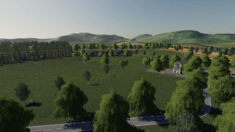 Мод Карта Hirschfelden v 1.0 для Farming Simulator 2019
