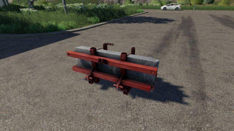 Мод Self-made counterweight v 1.0 для Farming Simulator 2019