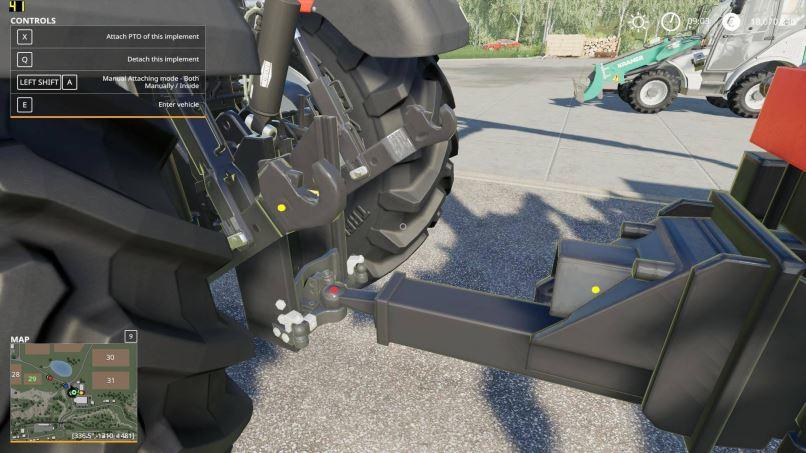 Мод Скрипт Manual Attaching v 1.1 для Farming Simulator 2019