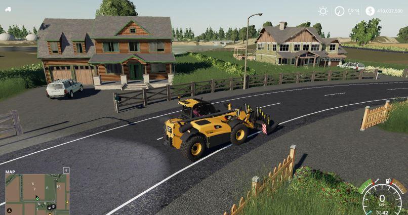 Мод Cat TeleHandler v 1.0 для Farming Simulator 2019