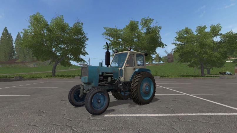 Мод ЮМЗ-6АЛ v 1.1 для Farming Simulator 2017