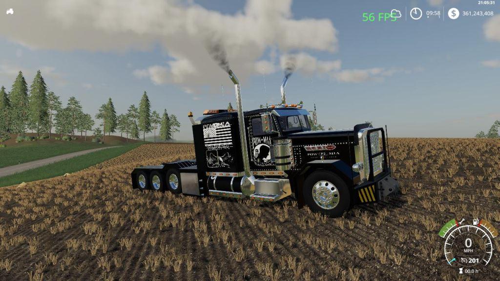 Мод Pete 389 Heavy VE Update  v 1.0 для Farming Simulator 2019