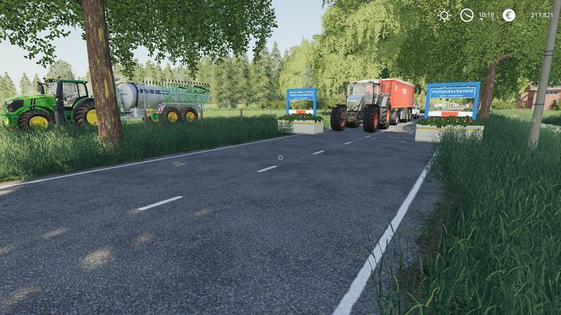 Мод Карта Hollandscheveld map v 1.0 для Farming Simulator 2019