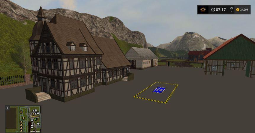 Мод Карта Vaszics Fantasy v 1.1 для Farming Simulator 2017