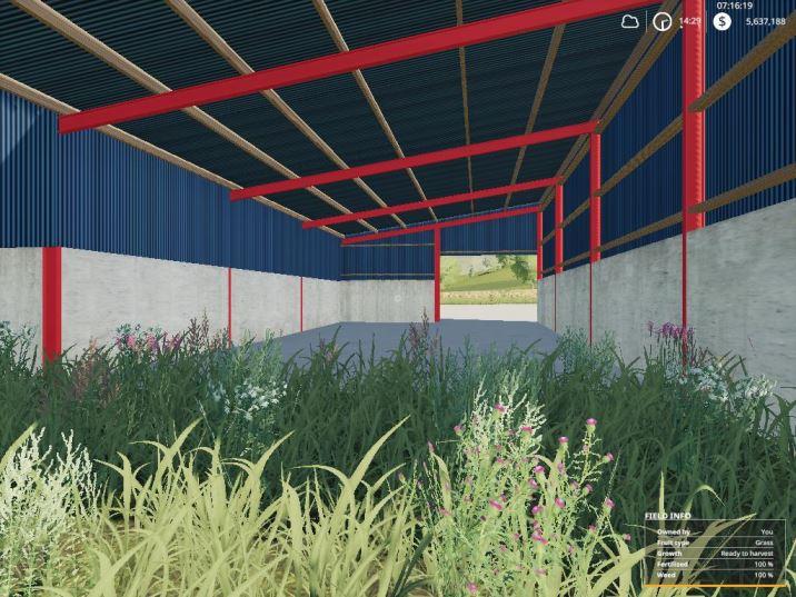 Мод Dairy barn v 1.0 для Farming Simulator 2019