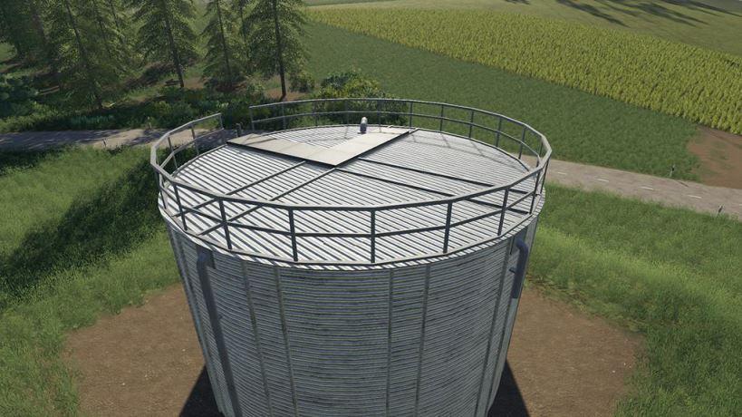 Мод Metal Water Tank v 1.0 для Farming Simulator 2019