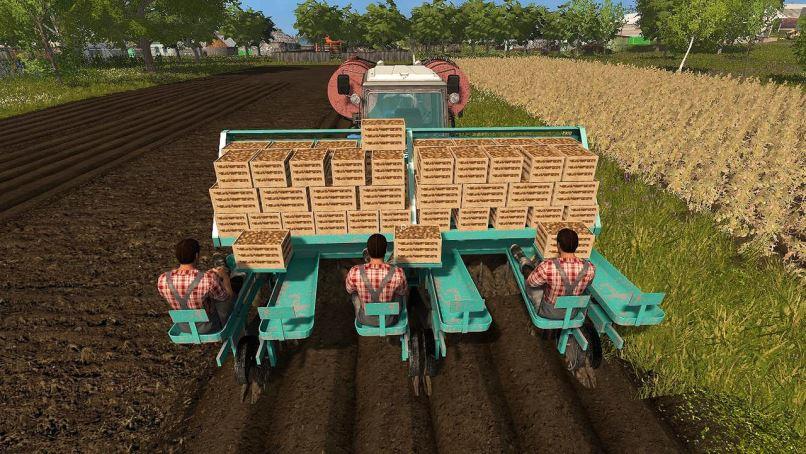 Мод СКН-6А Пак v 2.0.0.2 для Farming Simulator 2017