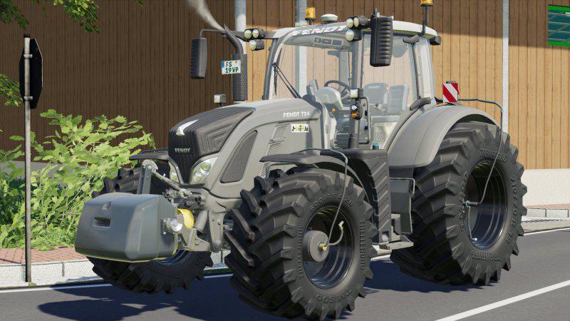 Мод Fendt 700 Vario by WP v 1.1 для Farming Simulator 2019