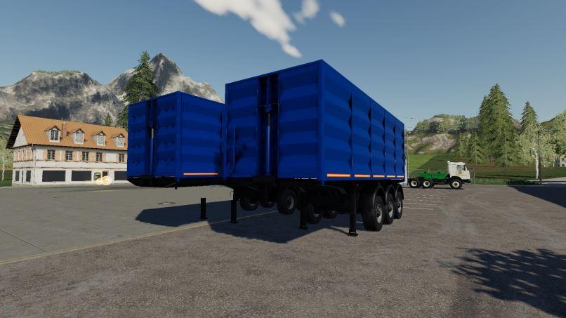 Мод Автопоезд Тонар-95411 v 1.0 для Farming Simulator 2019