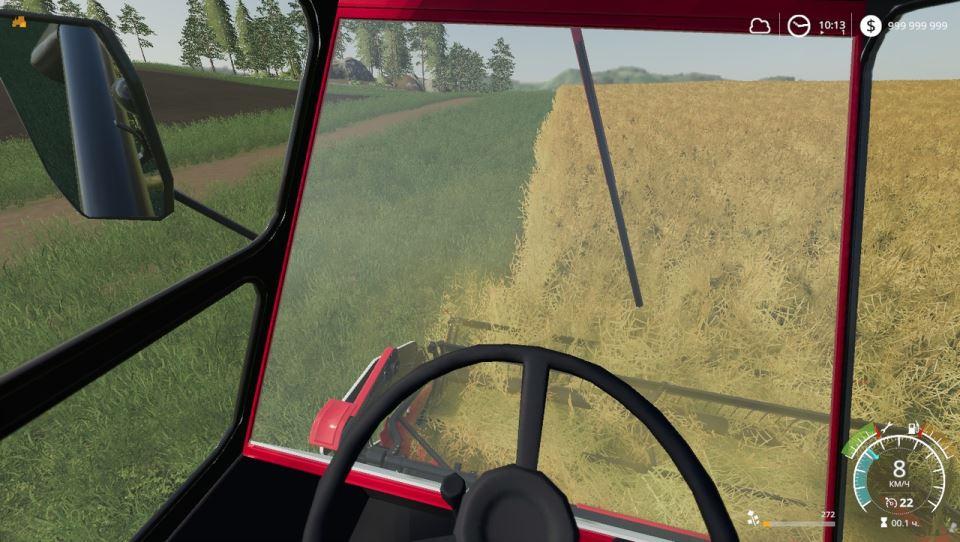 Мод Ростсельмаш Нива Эффект v 1.0.3 для Farming Simulator 2019