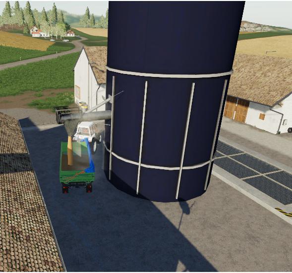 Мод CSJ Harvestore System v 1.1 для Farming Simulator 2019