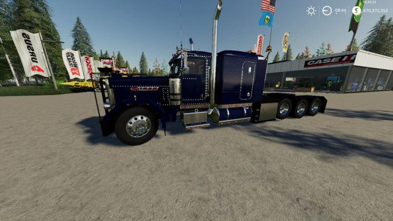 Мод Peterbilt 389 Heavy VE1 v 1.0 для Farming Simulator 2019