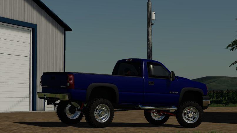 Мод Chevy 2500HD v 1.0 для Farming Simulator 2019