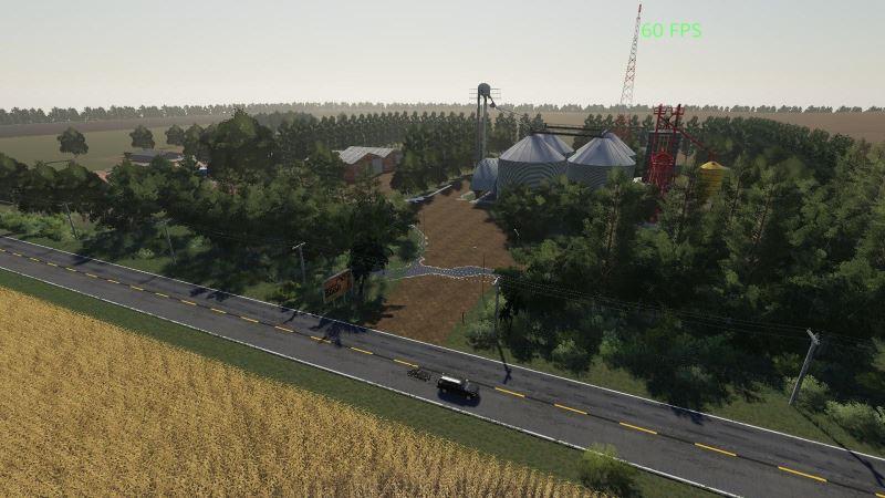 Мод Карта Fazenda Bacuri v 1.0 для Farming Simulator 2019
