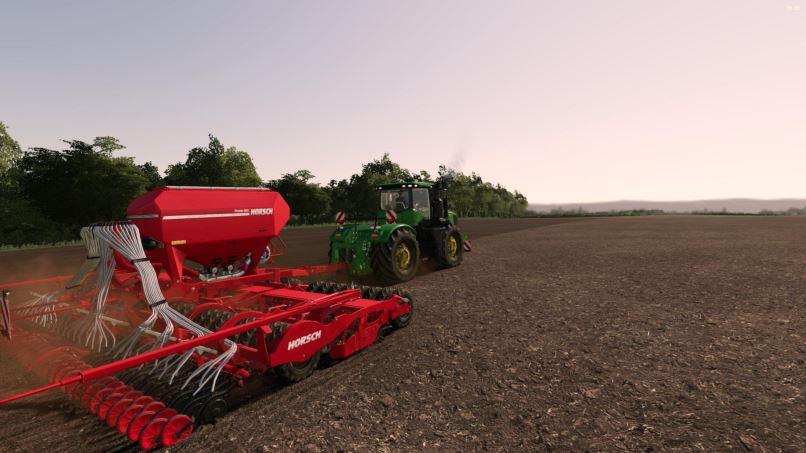Мод John Deere 9R 2014 series v 1.1 для Farming Simulator 2019