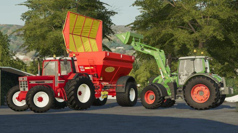 Мод Fendt Cargo Pack v 1.0 для Farming Simulator 2019