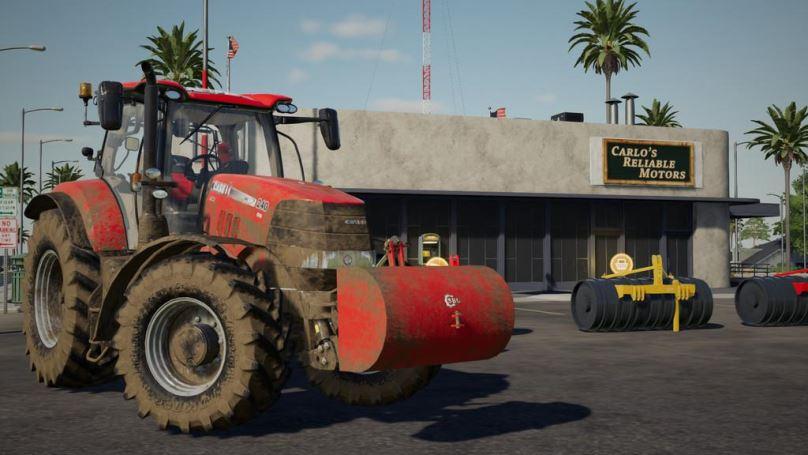 Мод Weight SBG v 1.0 для Farming Simulator 2019