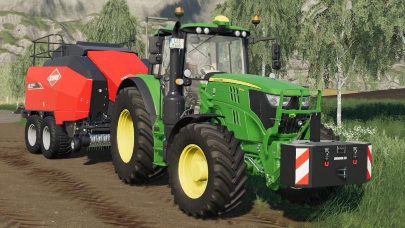 Мод Doumass SB 600KG v 1.0 для Farming Simulator 2019