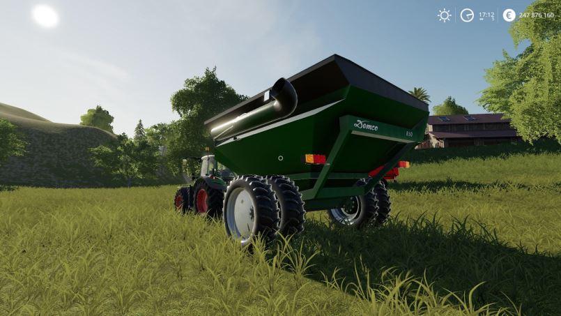 Мод Demco 850 GrainCart v 1.0 для Farming Simulator 2019