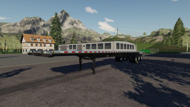 Мод Lizard 51FT Autoloader v 0.0.1.1 для Farming Simulator 2019