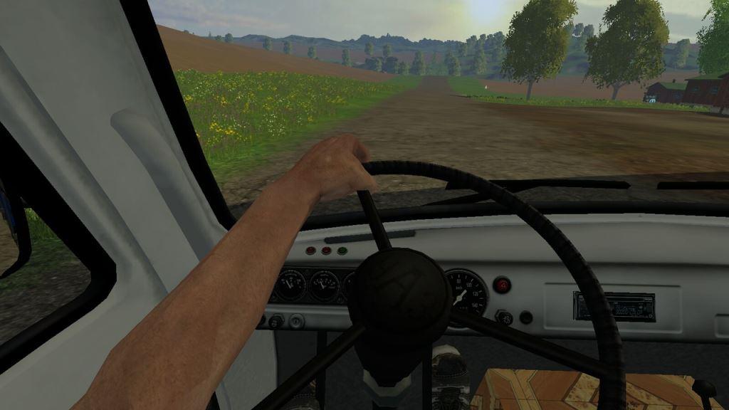 Мод Уаз-3309 v 1.0 для Farming Simulator 2015