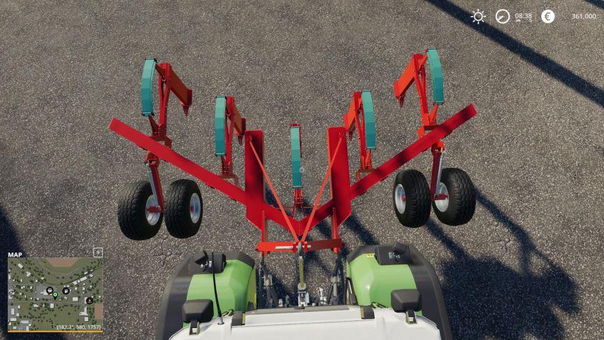 Мод Kverneland CLE 430/5 v 1.0 для Farming Simulator 2019