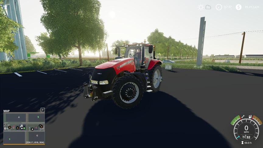 Мод Case IH Magnum US w/Helicopter Tanks v 2.0 для Farming Simulator 2019