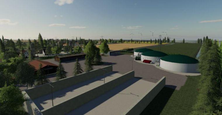 Мод Карта Nordfriesische Marsch Multifruit v 1.2 для Farming Simulator 2019