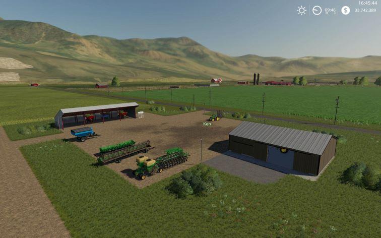 Мод Карта Jones Dairy Farm v 1.0 для Farming Simulator 2019