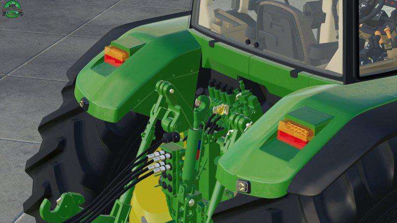 Мод John Deere 7010 v 1.1 для Farming Simulator 2019