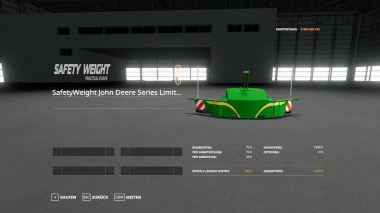 Мод John Deere Series 8R LimitedEdition v 1.1 для Farming Simulator 2019