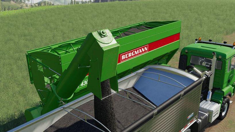 Мод Прицеп Bergmann GTW 430 v 1.0 для Farming Simulator 2019