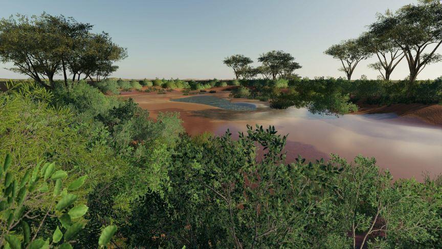 Мод Карта Western Australia v 1.0 для Farming Simulator 2019