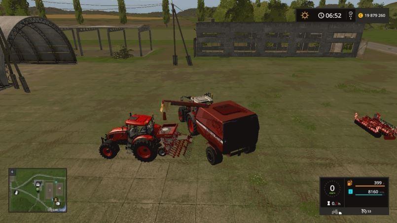 Мод КЗР-10 v 2.0 для Farming Simulator 2017