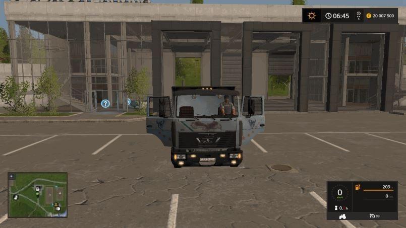 Мод МАЗ-5551-А2 v 1.0 для Farming Simulator 2017
