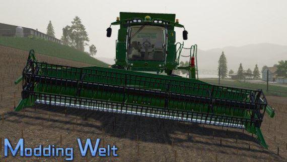 Мод John Deere T560 Pack v 2.0 для Farming Simulator 2019