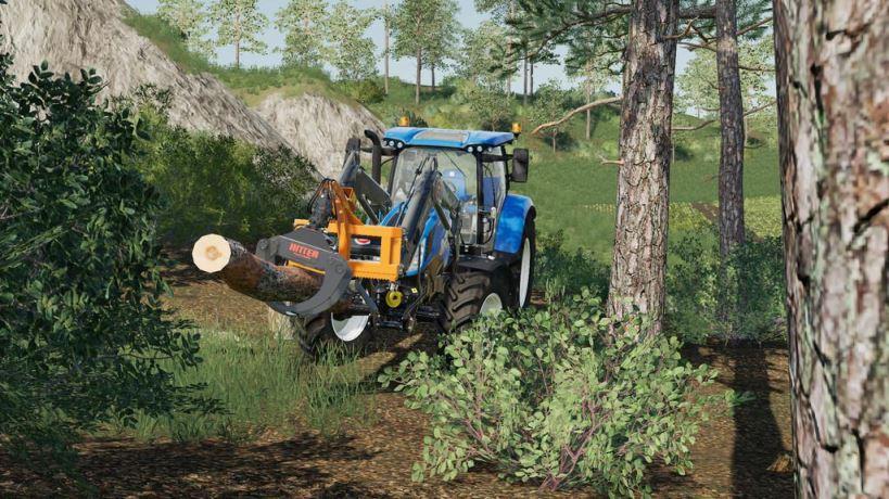 Мод Ritter FG45 v 1.0 для Farming Simulator 2019