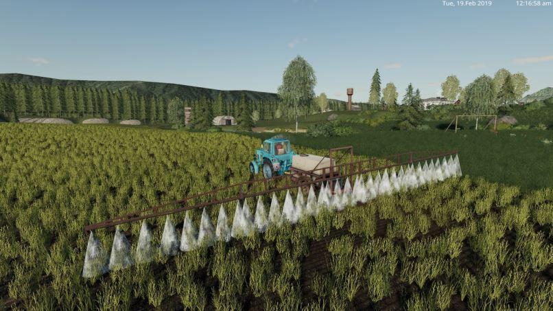 Мод ОП-2000 v 1.0 для Farming Simulator 2019