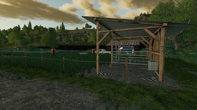 Мод Kleine Pferdeweide v 1.0 для Farming Simulator 2019