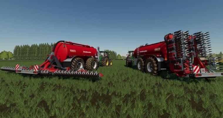 Мод Schuitemaker Robusta 225 pack v 1.0 для Farming Simulator 2019