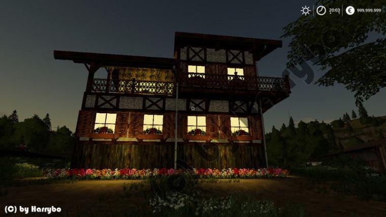 Мод Фермерский дом v 2.0 для Farming Simulator 2019