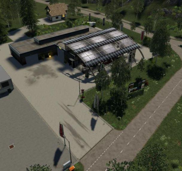Мод Карта Felsbrunn Edit By MC Standard Fruit Update v 1.3 для Farming Simulator 2019