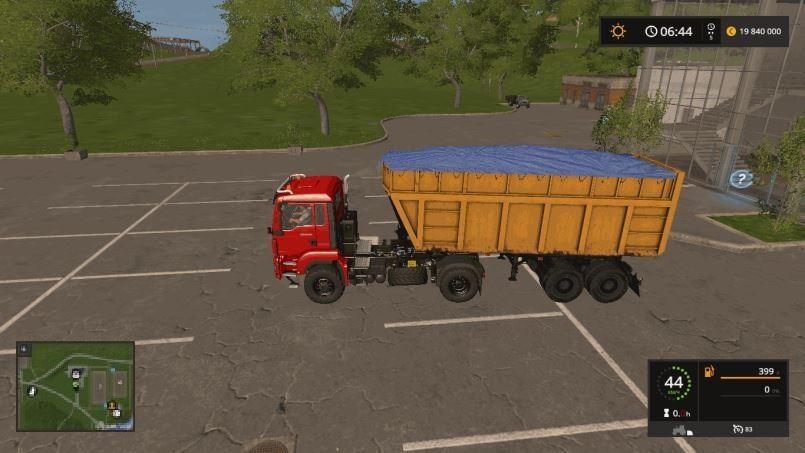 Мод МАЗ-950600-030 v 1.0 для Farming Simulator 2017