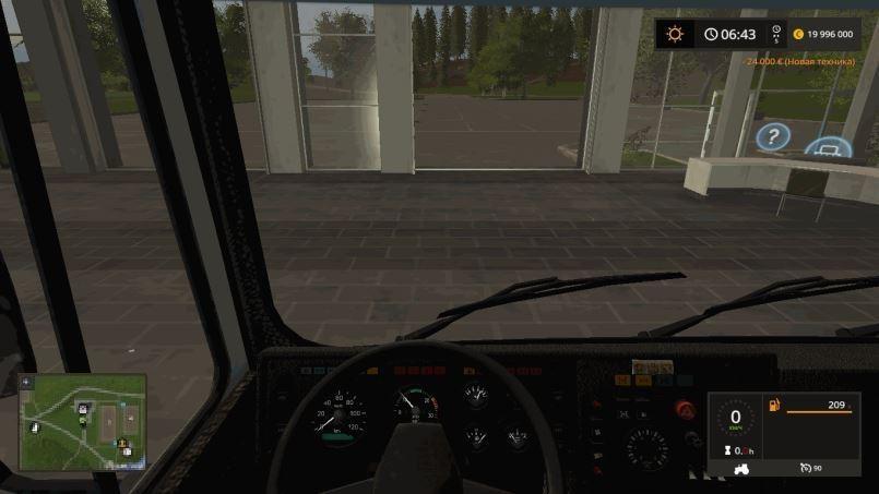 Мод МАЗ-6422 v 1.1 для Farming Simulator 2017
