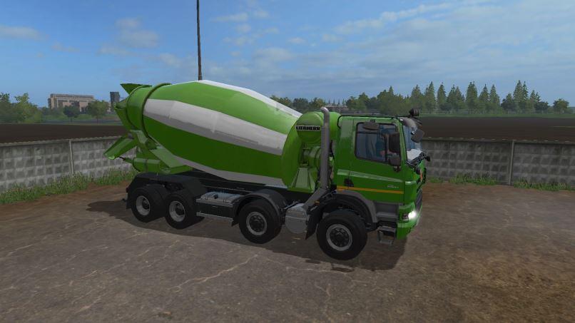 Мод Tatra Phoenix Mixer v 2.2 для Farming Simulator 2017